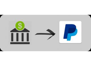 有咩方法可以用銀行帳戶過數落Paypal帳戶?